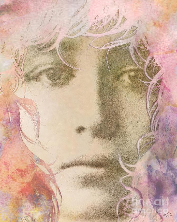 Romantic Digital Art - Delicate by Kenneth Rougeau