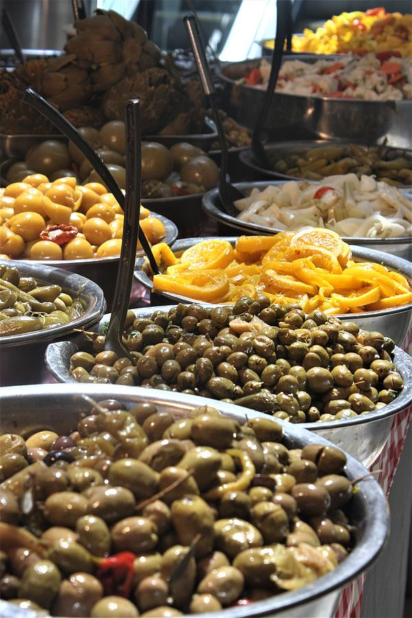 Delicious Olives by Julie Alison