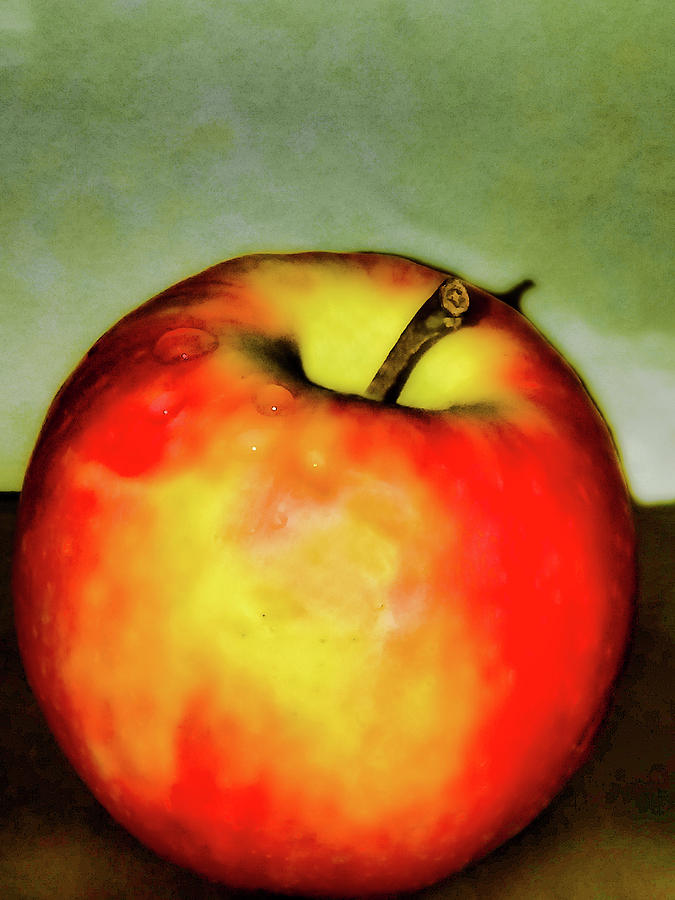 Delicious Red Apple by CG Abrams