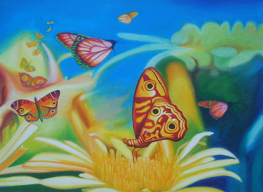 Delight Painting - Delight by Leonard Aitken