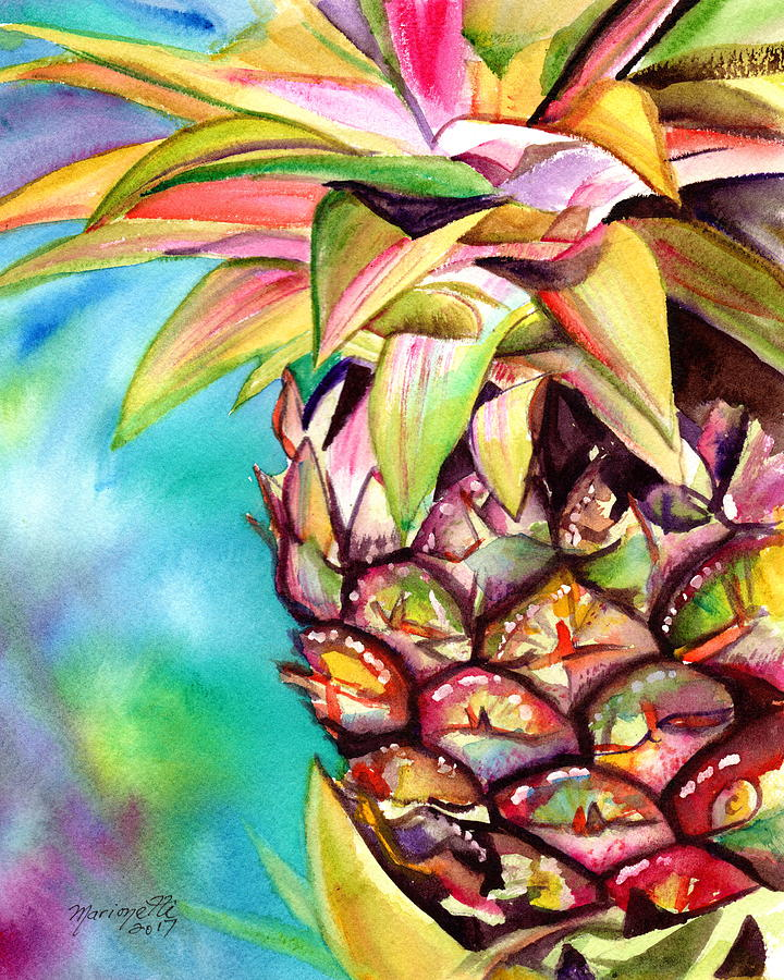 Delightful Pineapple by Marionette Taboniar