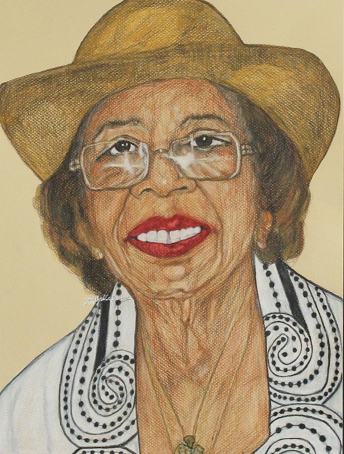 Della Willis Portrait by Michelle Gilmore