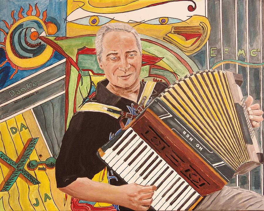 Kevin Callahan Painting - Delta Deutschland Blues by Kevin Callahan