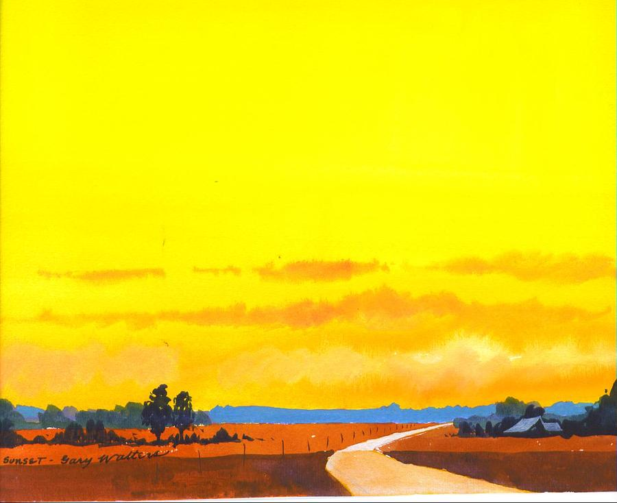 Delta Morning Painting by Gary Walters