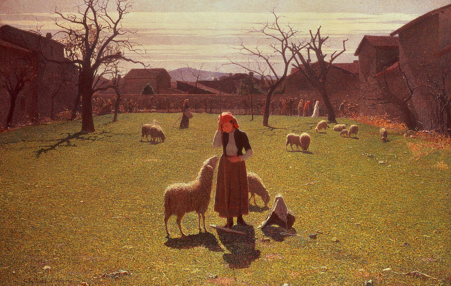 Deluded Painting - Deluded Hopes by Giuseppe Pellizza da Volpedo