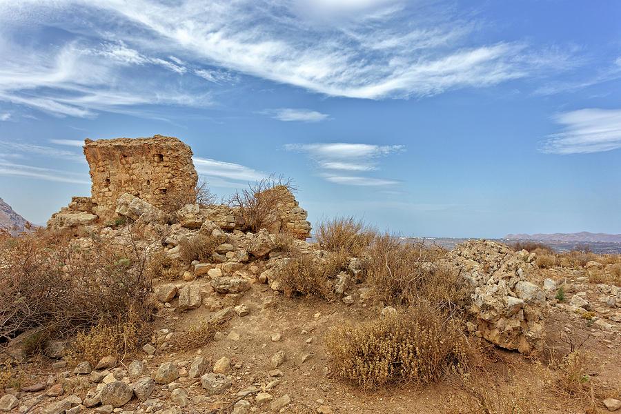 Demeter's temple ruins by Paul Cowan