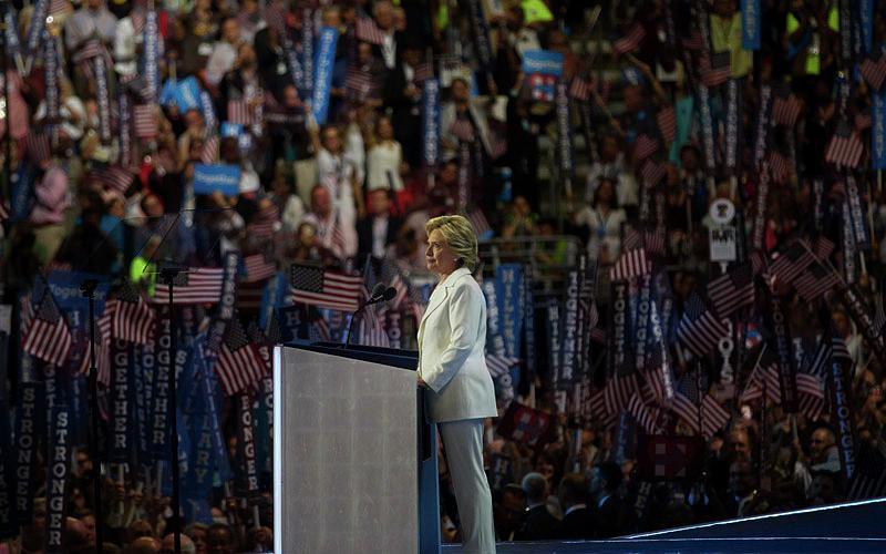 Democratic Convention Photograph