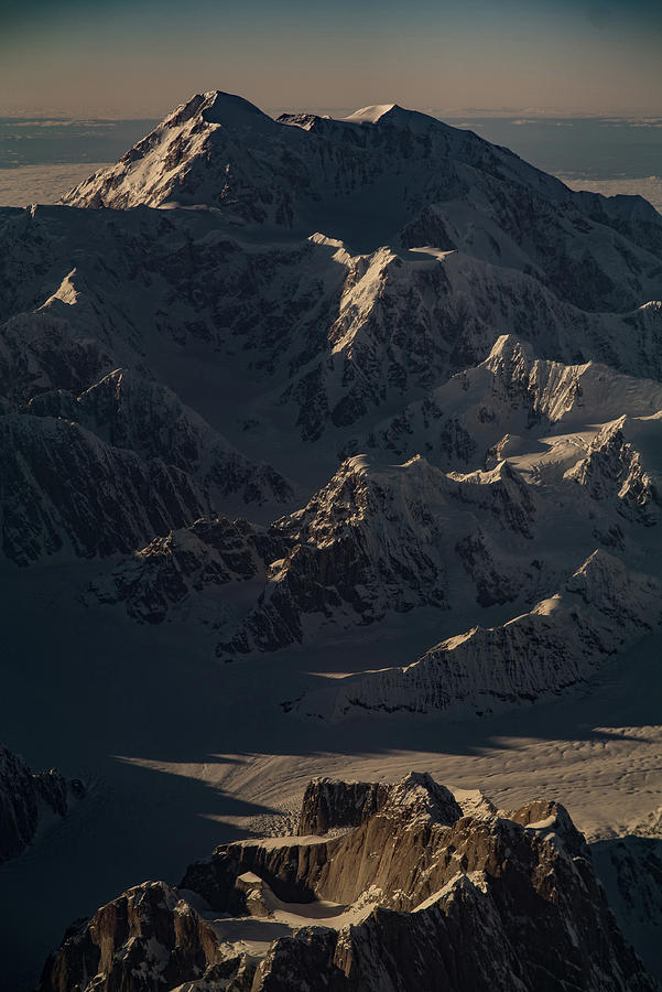 Denali from the Air by Chris Multop