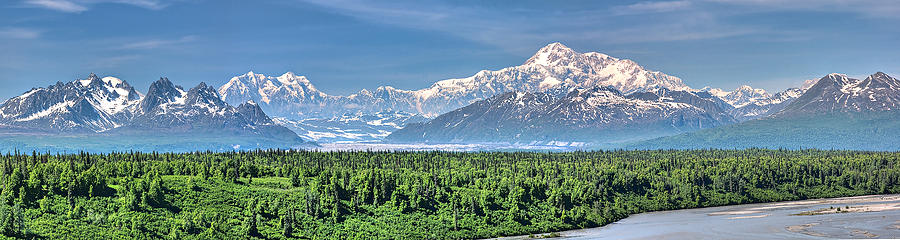 Denali Panorama by David Wynia