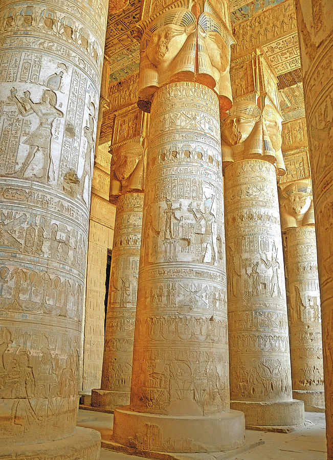 Dendera Temple by Nigel Fletcher-Jones