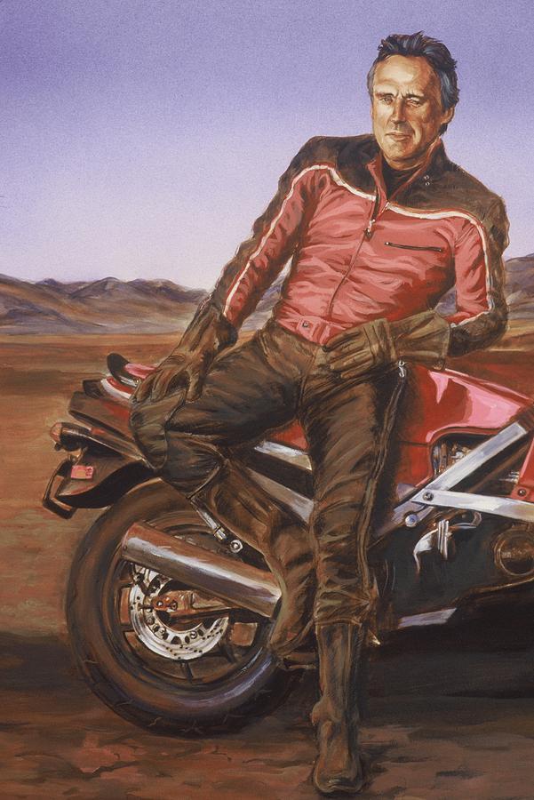 Dennis Hopper Painting - Dennis Hopper by Bryan Bustard
