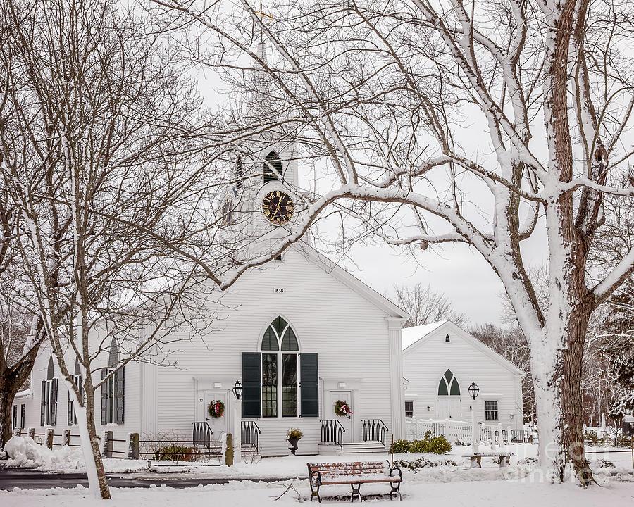 Dennis Union Church in Dennis by Susan Cole Kelly