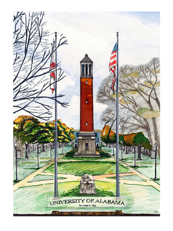 Denny Chimes at University of Alabama by Yang Luo-Branch