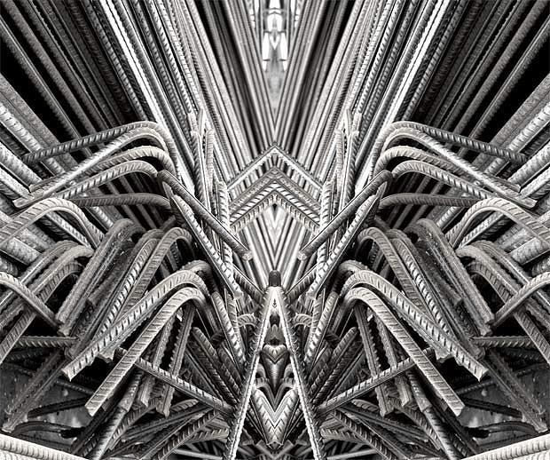 Abstract Photograph - Density-045 by Yehan Wang
