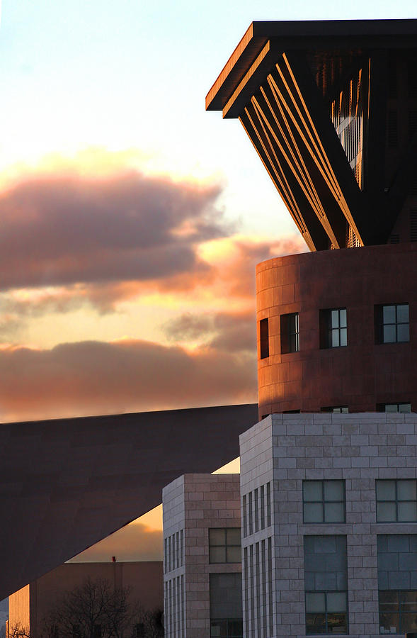 Denver Photograph - Denver Art Museum And Library by Jeffery Ball