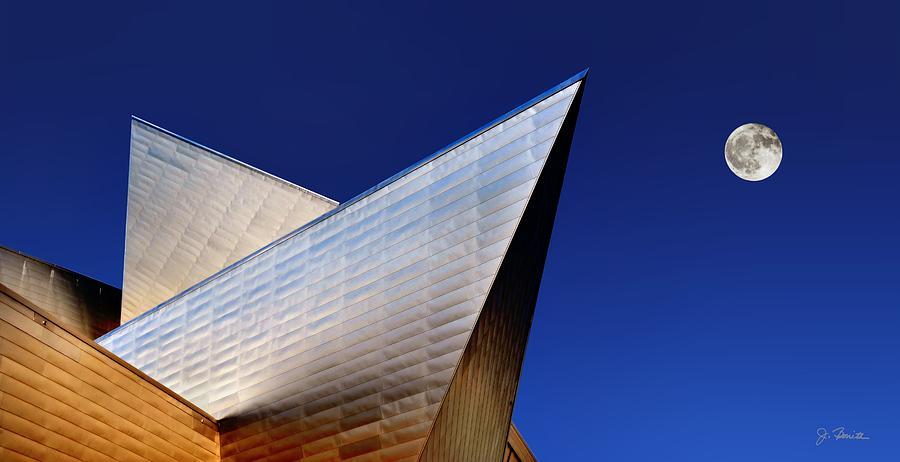 Denver Photograph - Denver Art Museum No. 2 by Joe Bonita