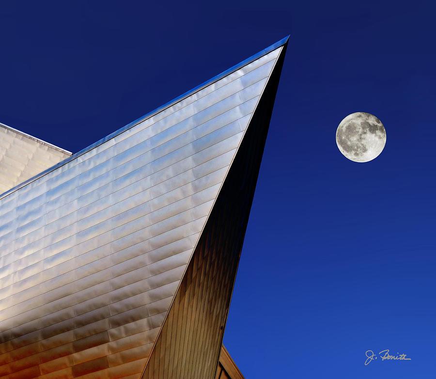 Denver Photograph - Denver Art Museum No. 3 by Joe Bonita