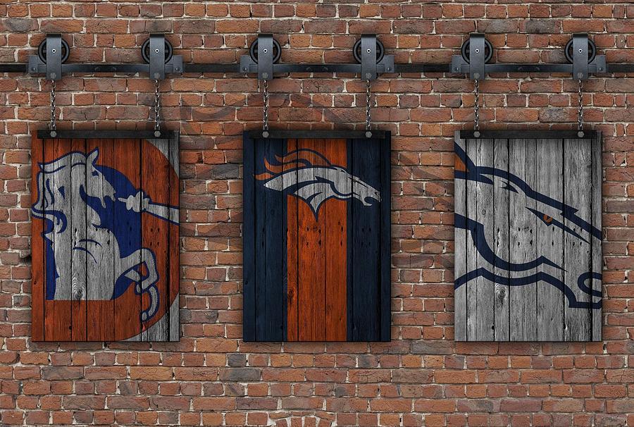 Broncos Wall Art denver broncos brick wall photographjoe hamilton