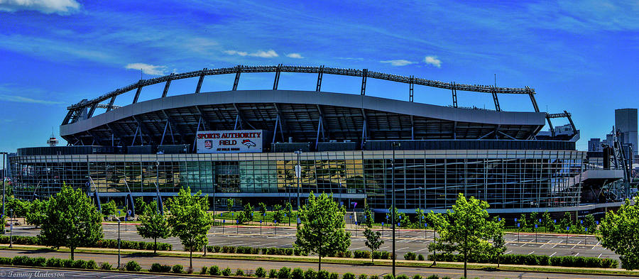 Denver Broncos Mile High Stadium 2 Photograph By Tommy