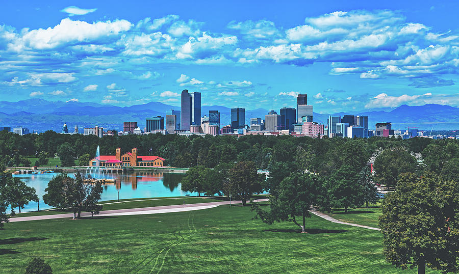 Denver Photograph - Denver City Park by Library Of Congress