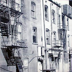 City Painting - Denver Hobbie by Scott Robinson