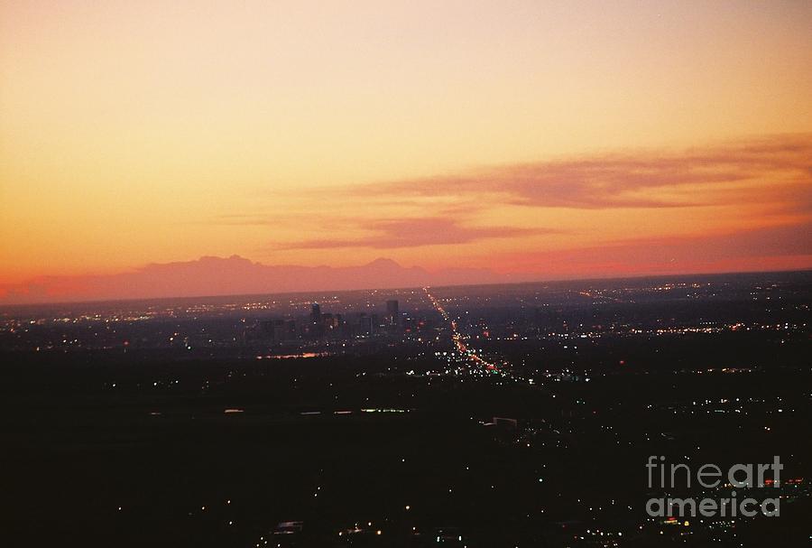 Denver Photograph - Denver Sunrise by Dawn Johnson