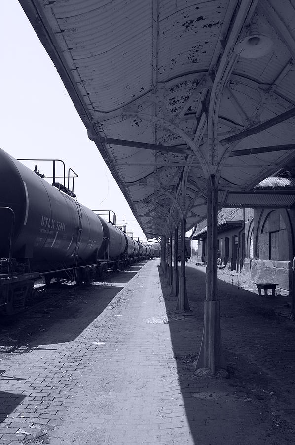 Bridge Photograph - Departing Depot by Jame Hayes