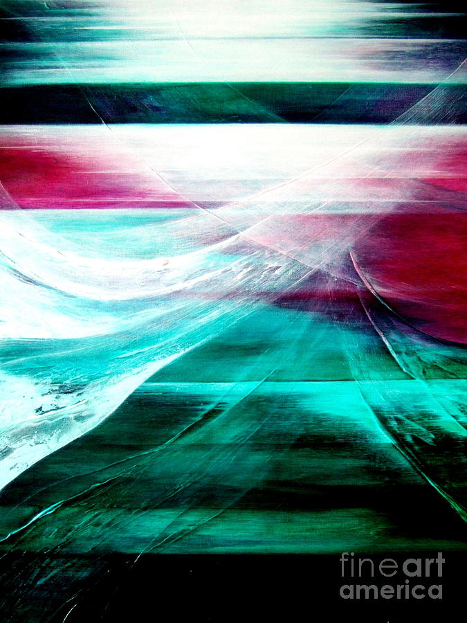 Departure Painting - Departure by Kumiko Mayer