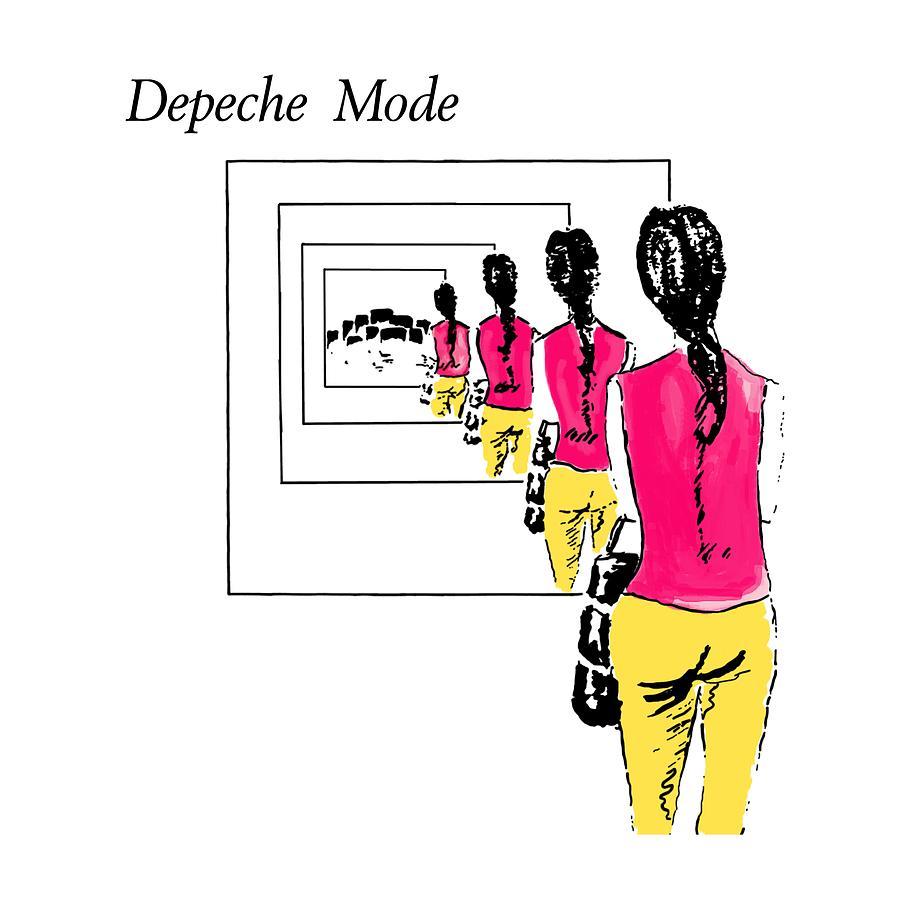 Depeche Mode Digital Art - Dreaming Of Me by Luc Lambert