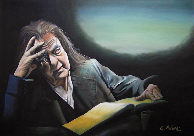 Philosopher Painting - Dephilosopher by Avihai Cohen