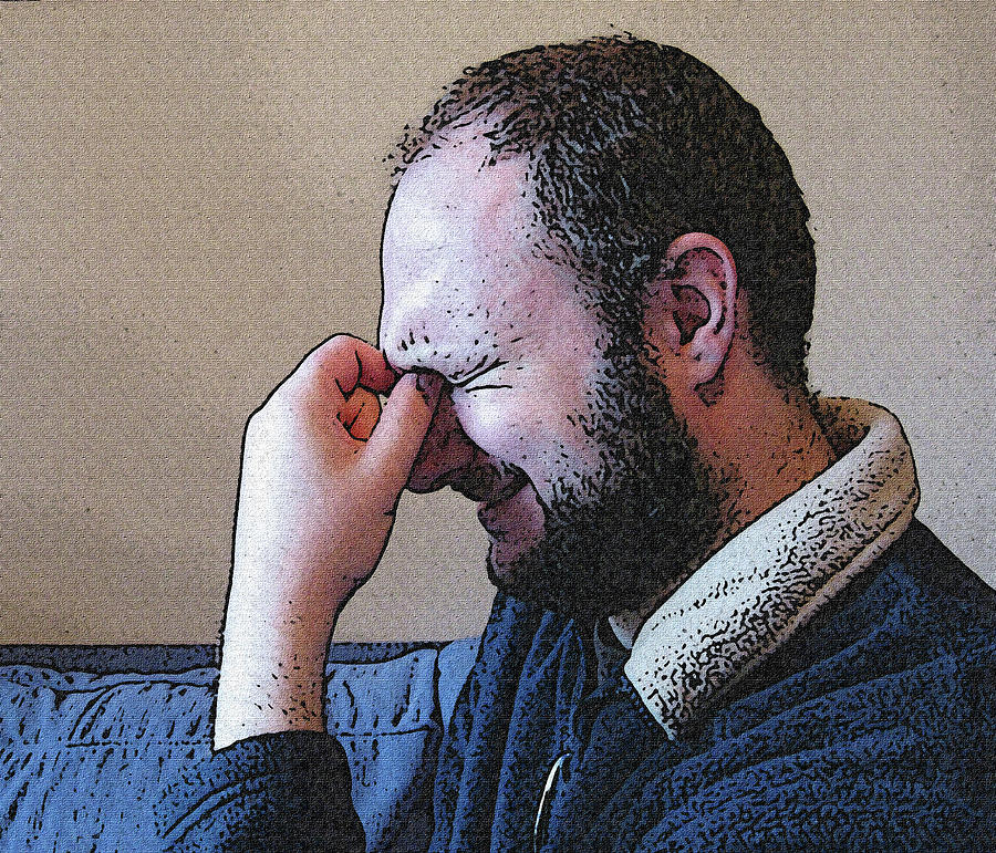 Depression Mixed Media - Depression by Darren Stein