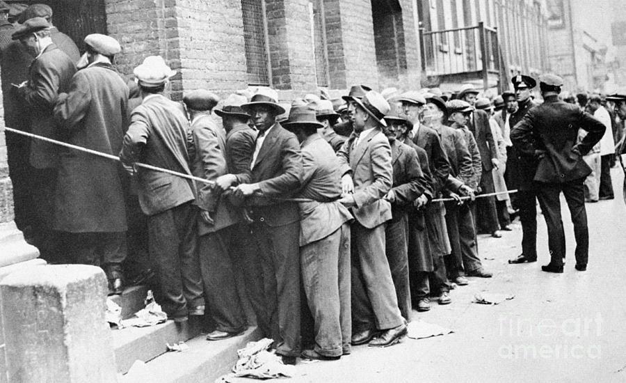 1931 Photograph - Depression: Harlem, 1931 by Granger