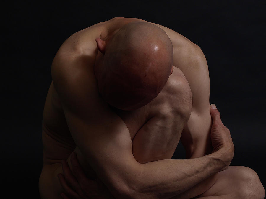 Nude Photograph - Depression Hits by Robert Gebbie