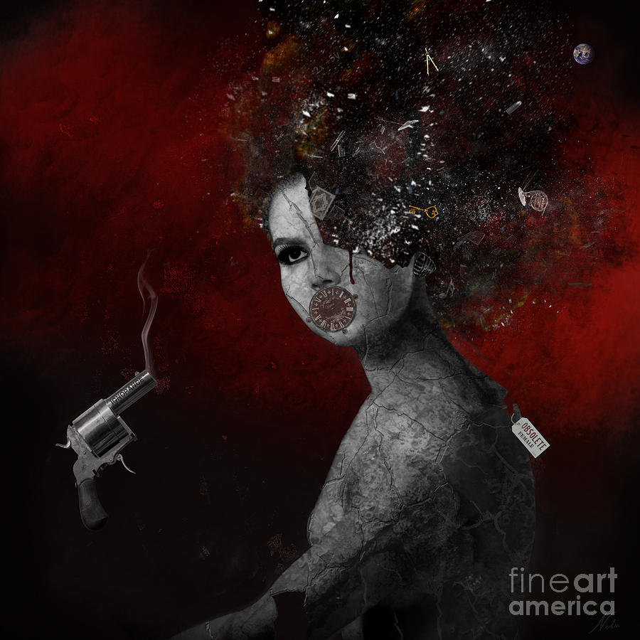 Education Digital Art - Deprived by Nola Lee Kelsey