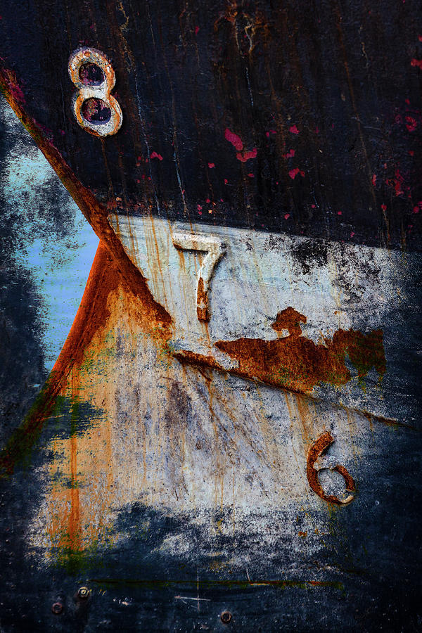 Nautical Photograph - Depth Markers by Carol Leigh