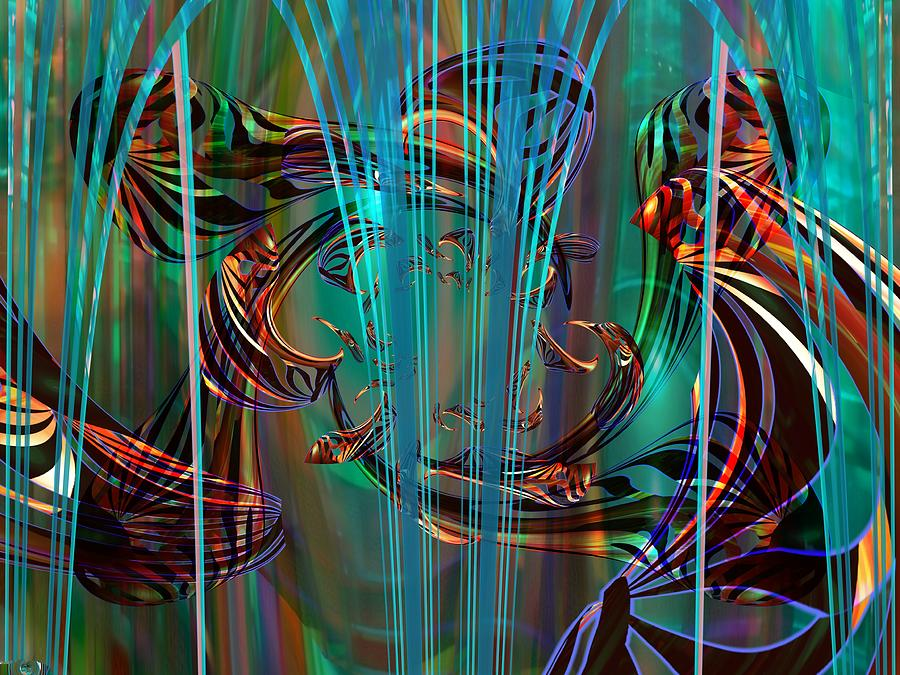 Depths Digital Art by Elaine Bawden