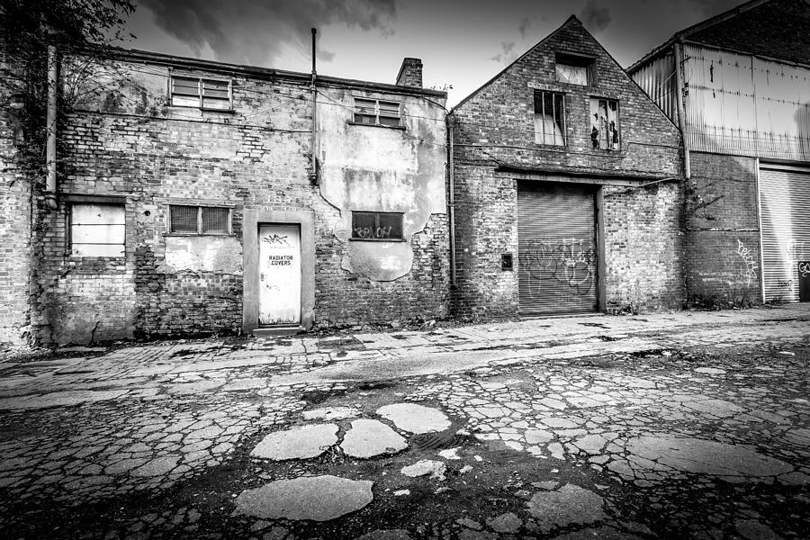 Derelict Photograph - Derelict Building by Gary Gillette