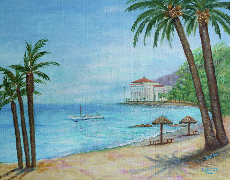 Descanso Beach, Catalina by LYNN BUETTNER