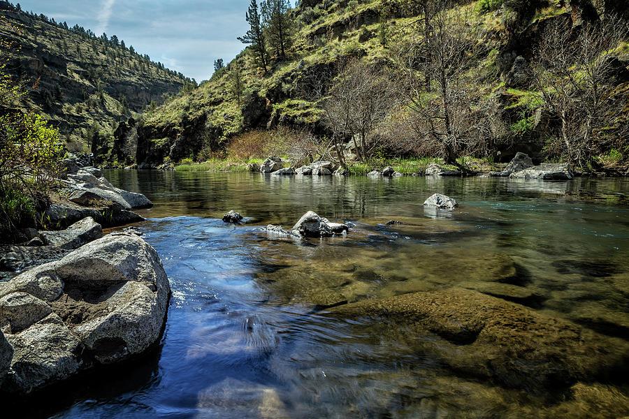 Deschutes River Below Steelhead Falls Photograph