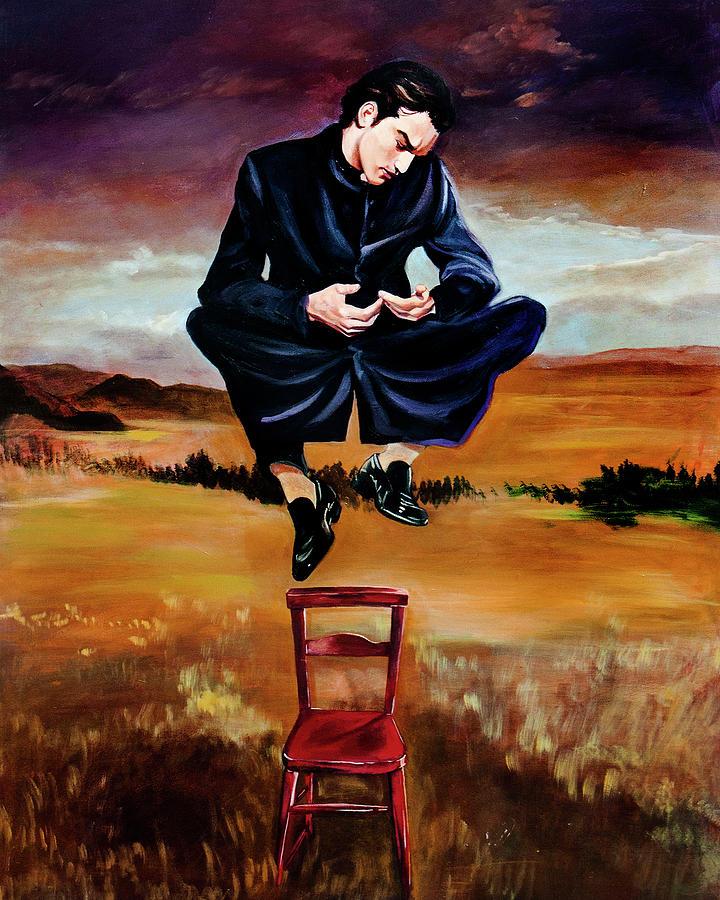 Priest Painting - Deseos En El Aire by Mix Luera