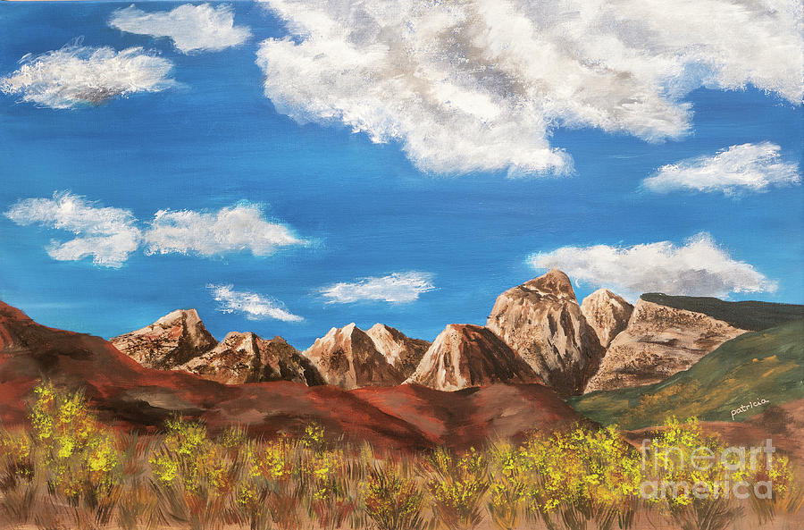 Desert Colors II by Patricia Gould
