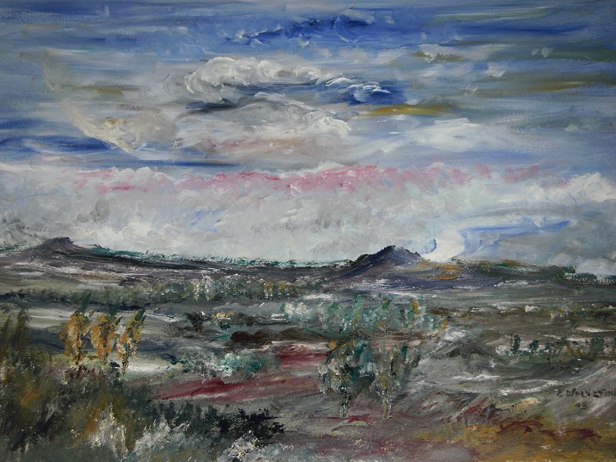 Landscape Painting - Desert by Edward Wolverton