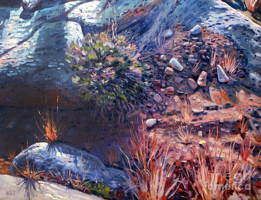 Desert Painting - Desert Floor by Donald Maier