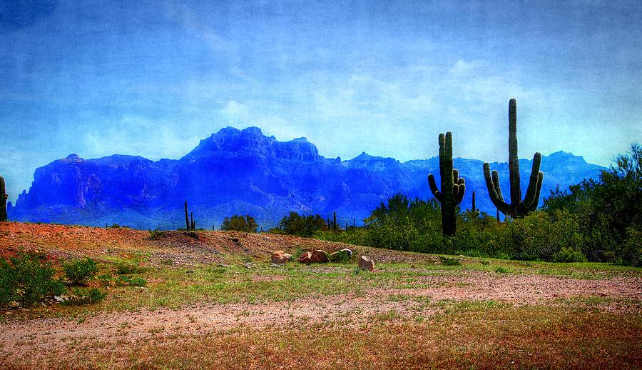 Desert Landscape Digital Art