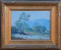 Desert Life Vic Forsythe Painting by Victor Clyde Forsythe