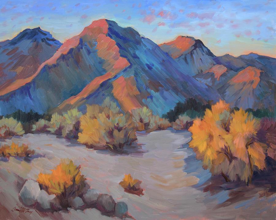 Light Painting - Desert Light by Diane McClary