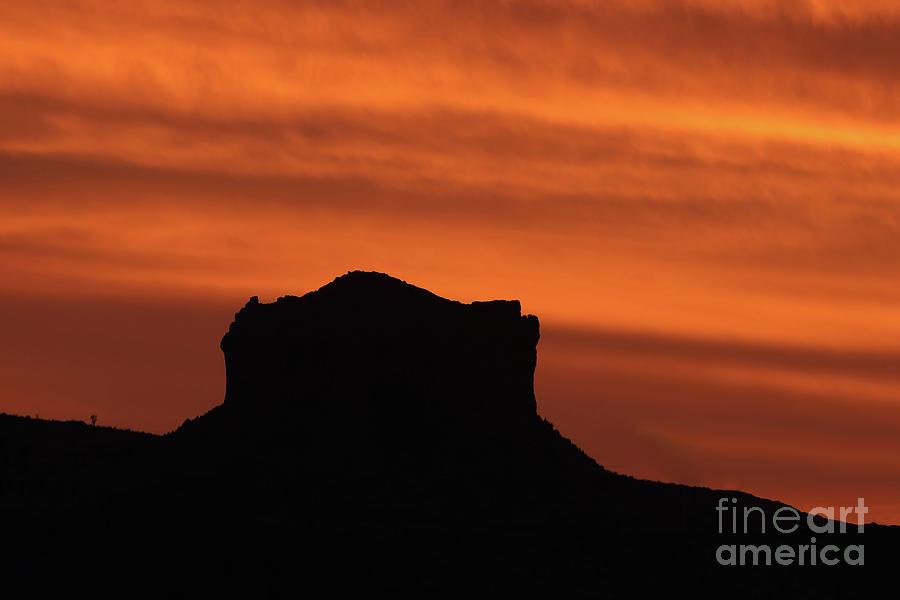 Desert Photograph - Desert Mesa Sunset by Rick Mann