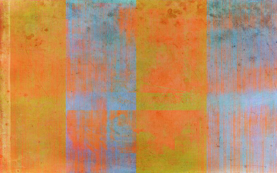 Orange Painting - Desert Mirage by Julie Niemela