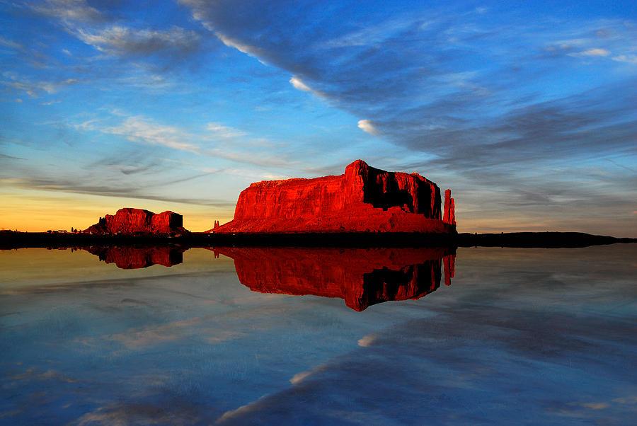 Desert Mirror by Harry Spitz