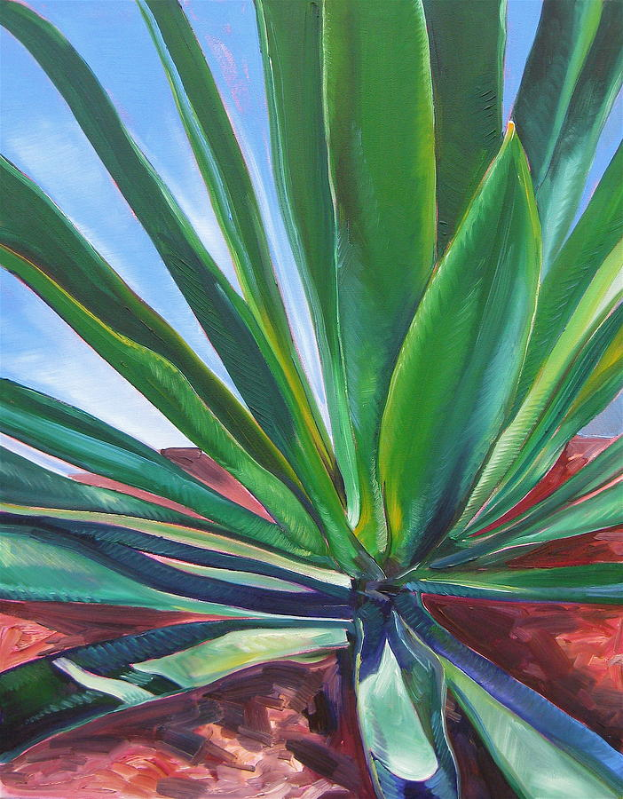 Botanical Painting - Desert Plant by Karen Doyle